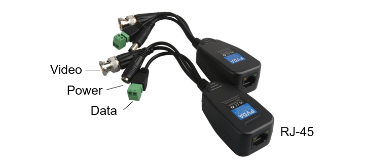 Power Video Data Balun